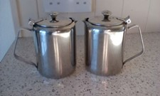 Vintage Stainless Steel COFFEE/WATER JUGS