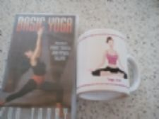 Basic Yoga VHS video and 'Yoga Girl' Mug