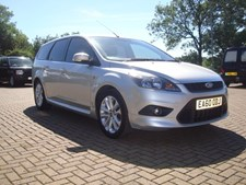 Ford Focus 1.6TDCi 110 (DPF) Zetec S Estate 5d 156